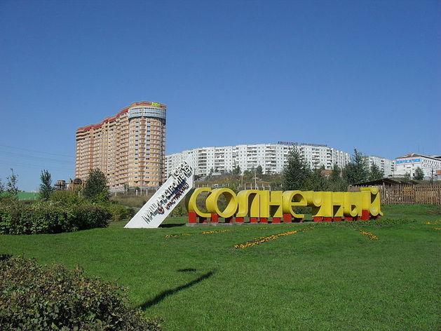 В красноярском мкрн Солнечный планируют построить торговый комплекс