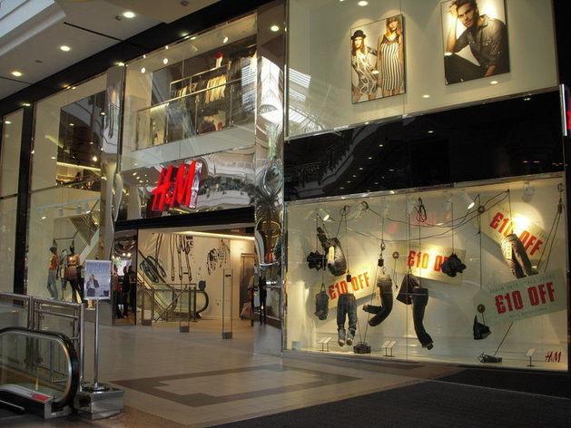 H&M озвучил время запуска магазина в Красноярске