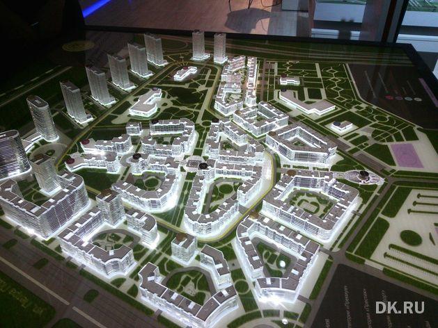 """Nikken Sekkei построит в красноярском микрорайоне """"умный город"""""""