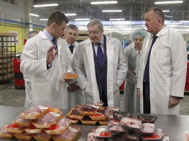 В Красноярском крае открыли новое производство курятины