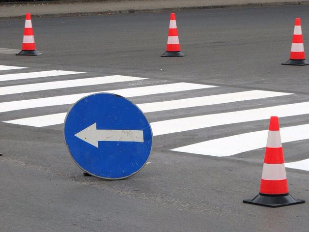 В Красноярске ограничено движение на нескольких улицах в центре