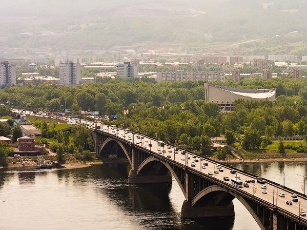 Красноярск исключили из списка самых грязных городов России