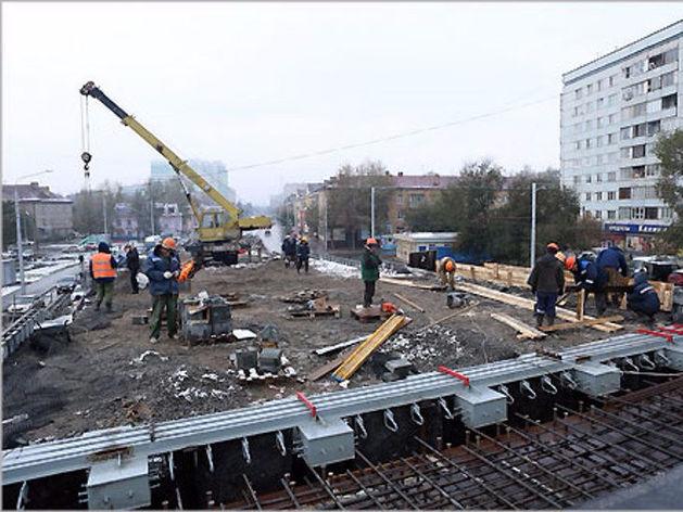 Сдача развязки на ул. 2-я Брянская в Красноярске сдвинулась на конец ноября