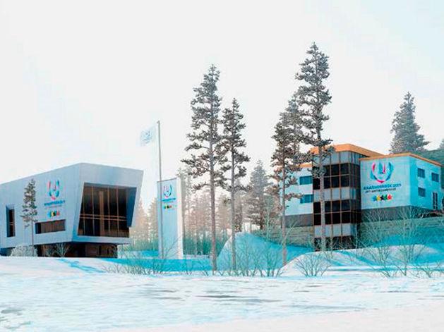 Блок «Фристайл» для Универсиады в Красноярске построят за 305 млн рублей