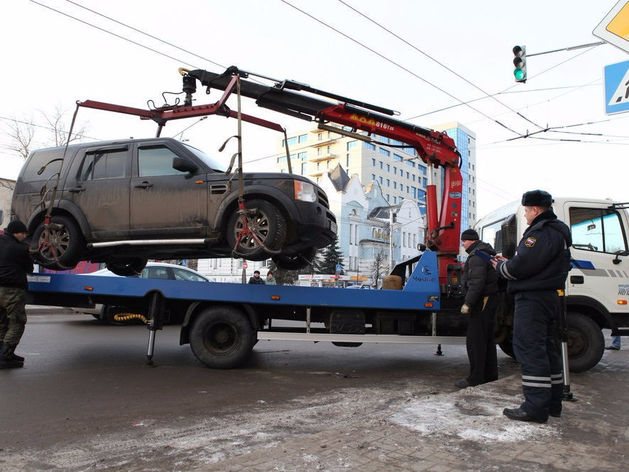 Депутаты Красноярского края решили установить тарифы вывоза на штрафстоянку