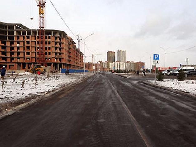 В Советском районе Красноярска открывают новую дорогу