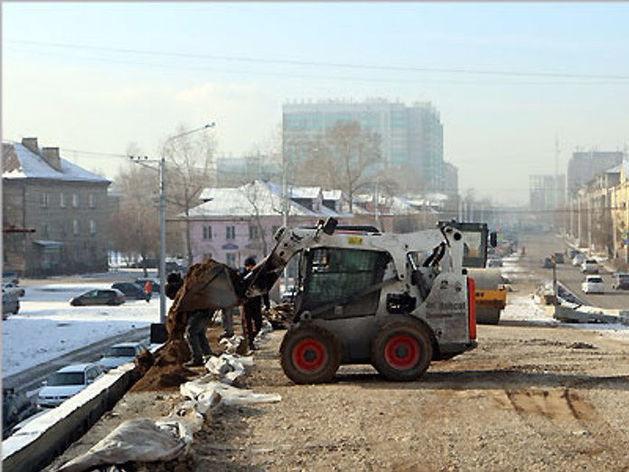 Развязку на ул. 2-я Брянская в Красноярске откроют без верхнего слоя асфальта