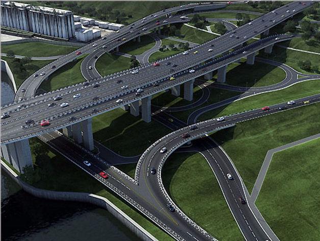 Более 60 млн рублей выделят на содержание четвертого моста в Красноярске