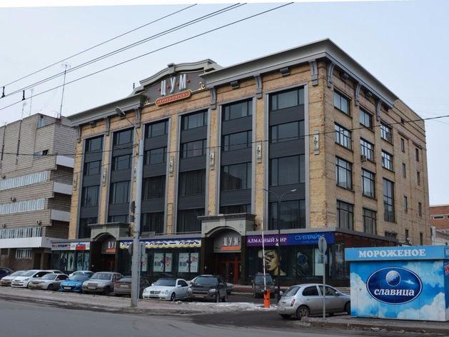 В Красноярске застроят площадку возле ЦУМа
