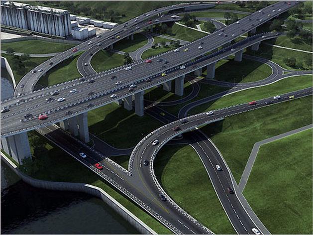 Результаты торгов на строительство съезда с четвертого моста в Красноярске аннулированы