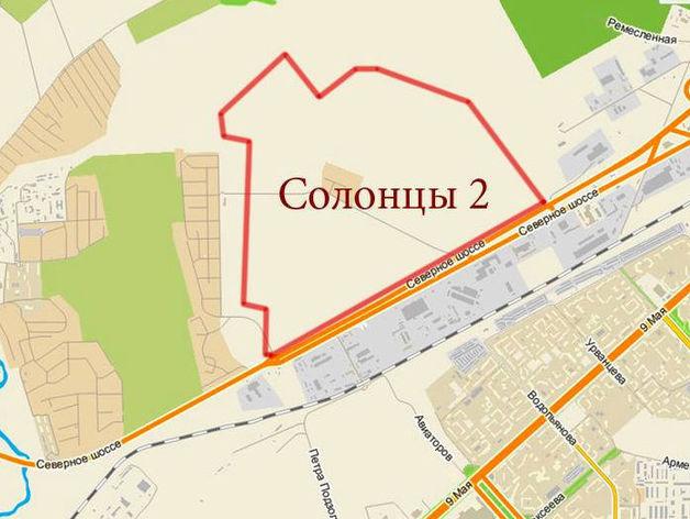 Земля в красноярских Солонцах-2 не заинтересовала строителей