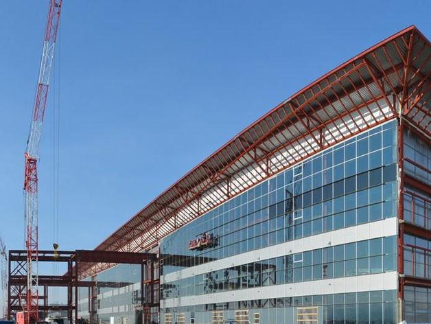 Новый терминал в Емельяново готов на 75%