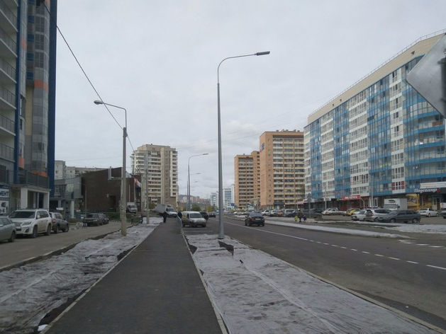 Дорога в красноярских «Белых росах» открылась досрочно