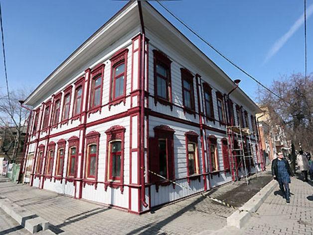 В Красноярске началась реставрация еще одного здания «исторического квартала»