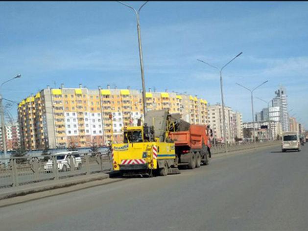 Ремонт дорог в Красноярске в этом году начнется раньше и закончится 25 августа