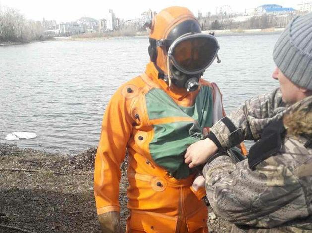 В Красноярске воссоздают единственный в городе речной фонтан