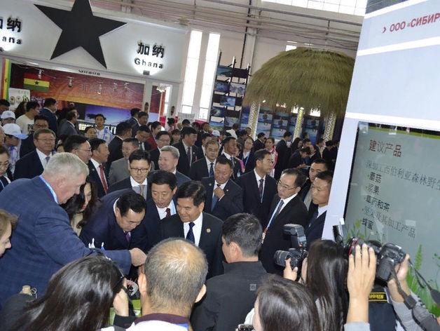 Товарооборот между Китаем и Красноярским крае вырос почти в полтора раза