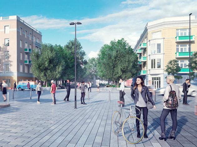 Представлен проект благоустройства исторического центра Красноярска