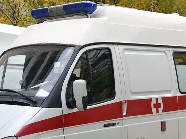 В Красноярске женщина-водитель иномарки протаранила скорую с пациентом