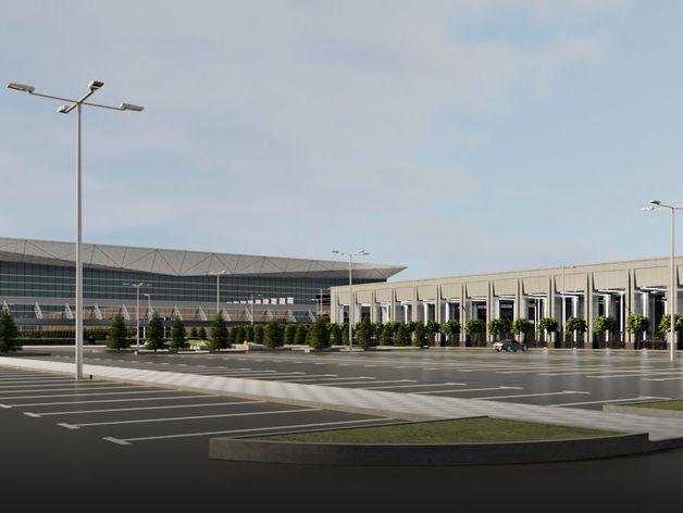 Вместо старого терминала аэропорта Красноярск откроют новый деловой комплекс