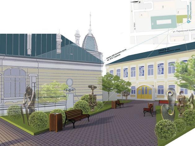 В Красноярске планируют создать «Музейный квартал»