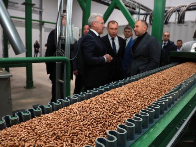 В Красноярском крае запустили производство топливных гранул