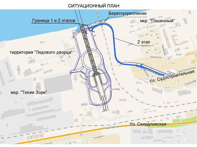 Строительство дороги с Николаевского моста к Пашенному начнется в 2020 году