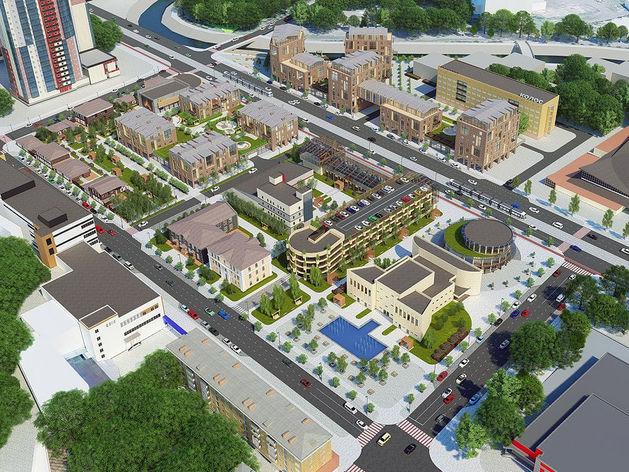 Вместо бараков на ул. Лебедевой и ул. Республики предлагают построить «Цветочный квартал»