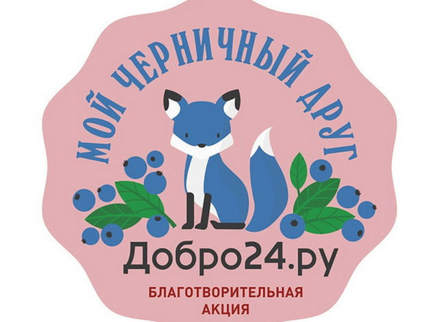 Красноярцев приглашают принять участие в благотворительной акции «Мой черничный друг»