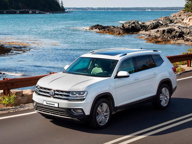 Самый мощный VolkswagenTeramont становится доступнее