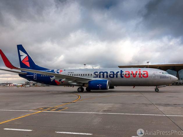 Самолет экстренно приземлился в Красноярске из-за сообщения о бомбе на борту