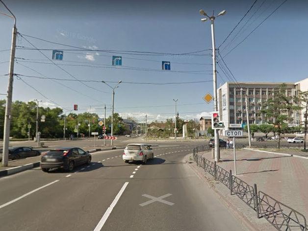 В Красноярске на нескольких сложных перекрестках изменят схему движения