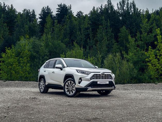 В Красноярске представят новое поколение Toyota RAV4