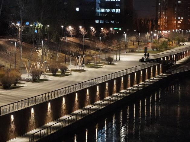 Мэрия Красноярска показала фото преображения правобережной набережной