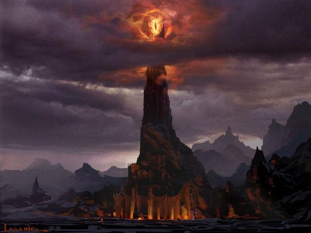 «Башня Саурона» в Красноярске заиграла новыми красками