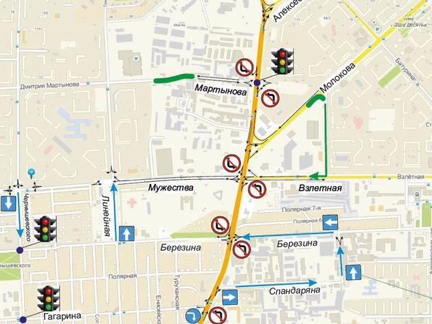 Группа депутатов горсовета Красноярска требует отменить новую схему на ул. Шахтеров