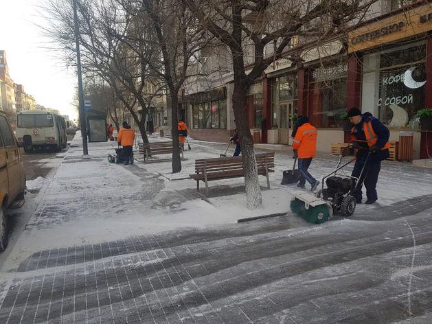В Красноярске хотят избавляться от снега с помощью снегоплавильных станций