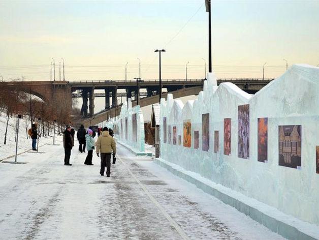 На левобережной набережной в Красноярске обустроили арт-пространство