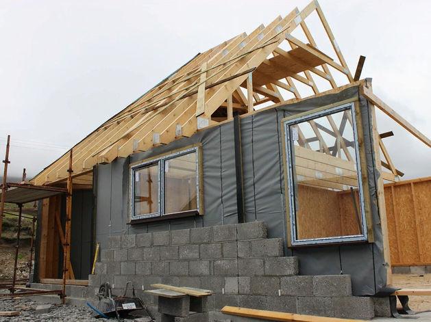 Треть жилья в Красноярском крае возводится населением