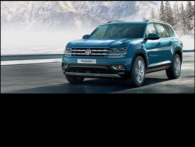 Официальные дилеры Volkswagen предлагают оценить Teramont в условиях красноярской зимы