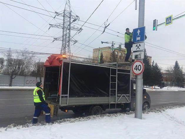 По выделенным полосам в Красноярске разрешат ездить всем в выходные