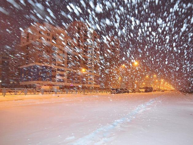На Красноярск надвигается ураган