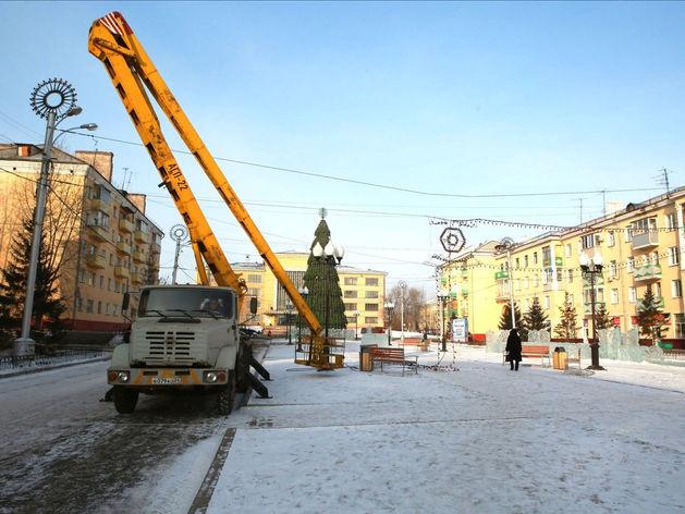 В этом году в Красноярске благоустроят часть Красраба