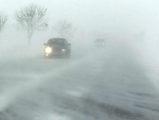 Штормовое предупреждение: Красноярск ожидает метель и порывистый ветер