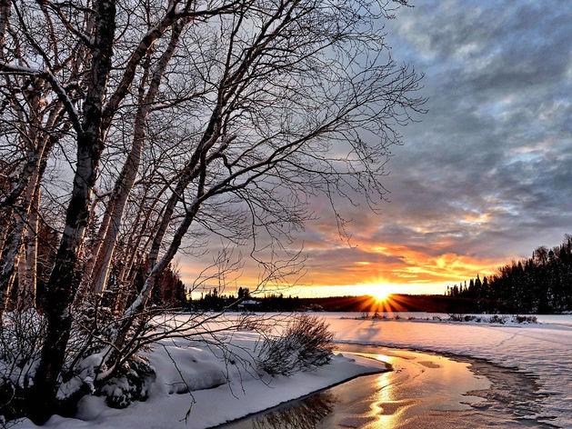 В Красноярск на выходные придёт теплая и солнечная погода