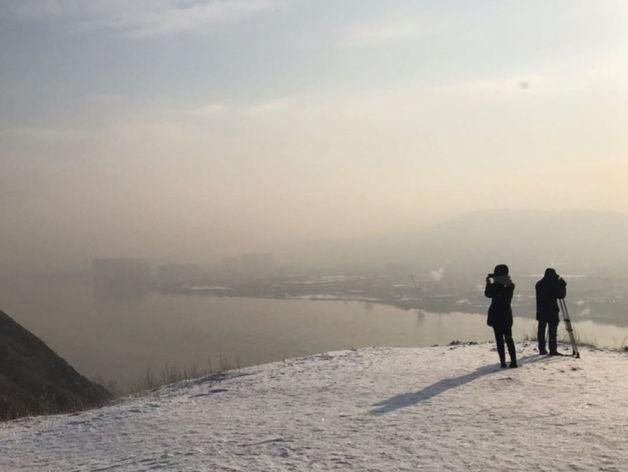Известный российский журналист прилетел в Красноярск снимать фильм об экологии