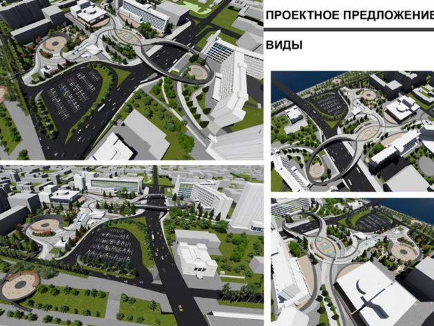В Красноярске определились с концепцией обновления Театральной площади