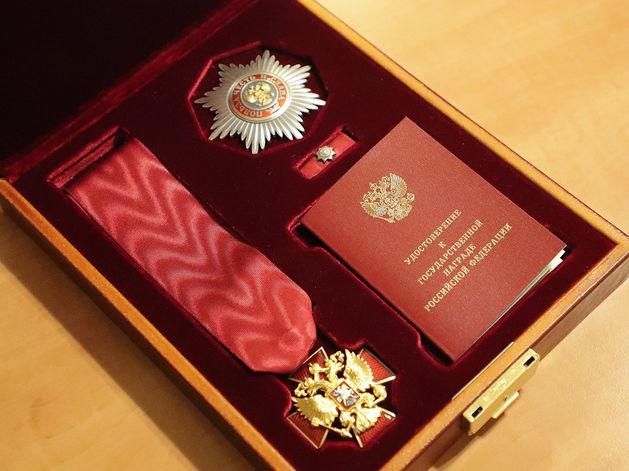 Главу Северо-Енисейского района наградили орденом