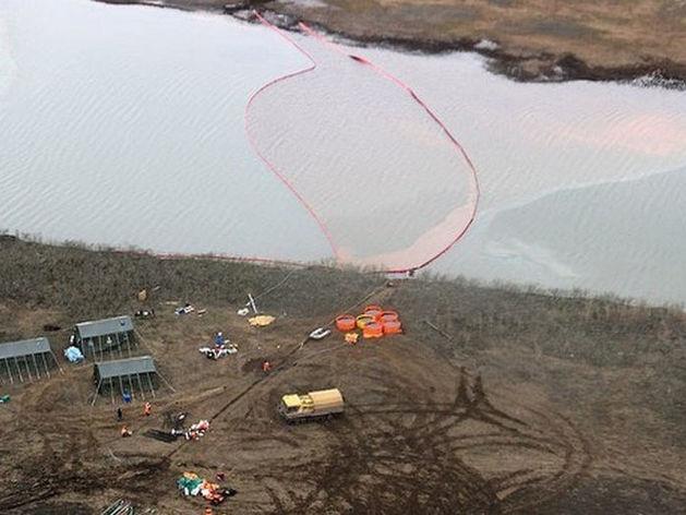 Экологи прокомментировали ситуацию с разливом топлива в Норильске