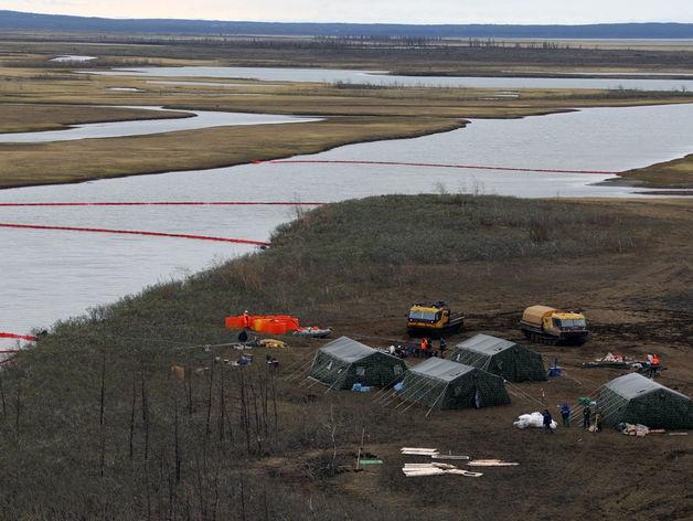 Ситуация в Норильске: собрано 90% топлива, влияние на водные объекты блокировано